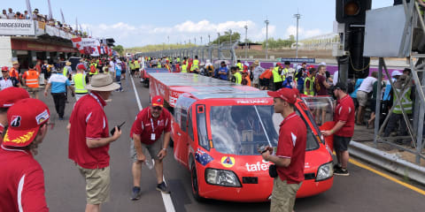 Bridgestone World Solar Challenge kicks off: 3000km and not a whiff of petrol