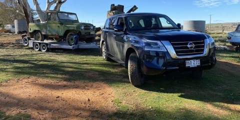 2020 Nissan Patrol Ti towing review