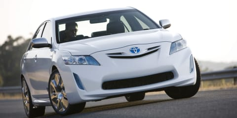 2009 Toyota Hybrid Camry Concept at MIMS