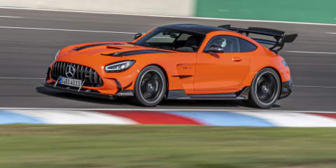 2021 Mercedes-AMG GT Black Series review
