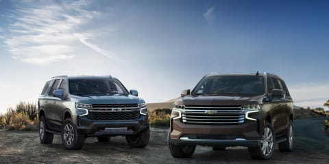 2021 Chevrolet Tahoe and Suburban revealed