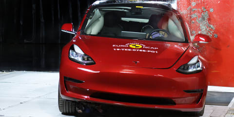 Euro NCAP: Model 3, Scala, B-Class get 5-star ratings