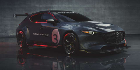 Mazda 3 TCR racer revealed