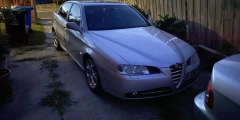 2004 Alfa Romeo 166 3.0 V6 review