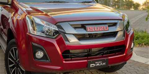 2018-2019 Isuzu D-Max crew cab recalled due to potential suspension failure