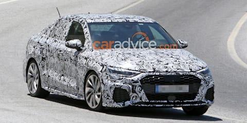 2020 Audi A3 sedan spied