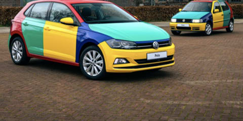 Volkswagen Polo Harlequin: colourful classic revived