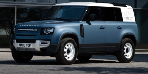 2021 Land Rover Defender Hard Top revealed