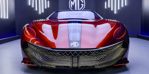 MG Cyberster electric concept revealed