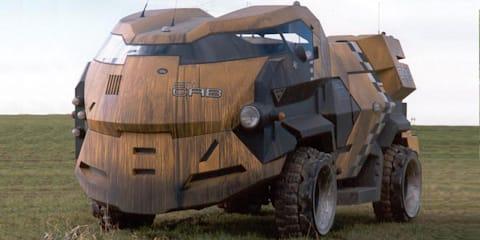 Design Review: Judge Dredd and the Land Rover City Cab (1995)
