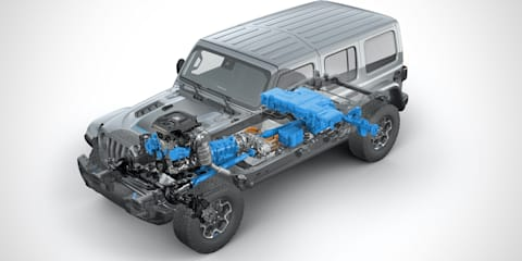 """Jeep to be hybrid and electric vehicle """"leader, not follower"""" in Australia, says company boss"""