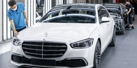 2021 Mercedes-Benz S-Class goes into production at ultra-modern Factory 56