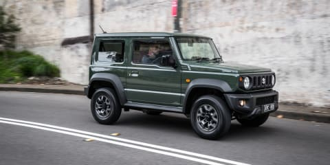 2019 Suzuki Jimny manual review: City driving