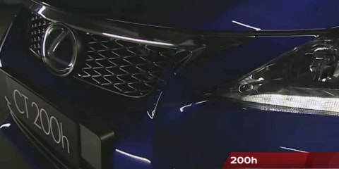 Lexus CT200h Video Review