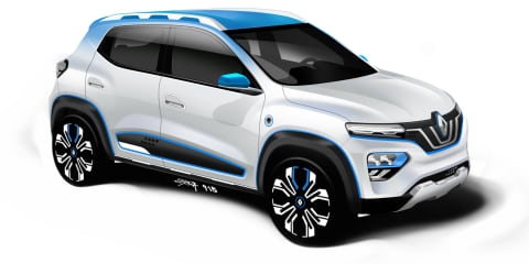 Renault K-ZE concept revealed