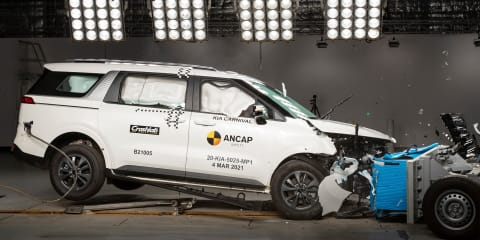2021 Kia Carnival scores five stars for safety, second vehicle without centre airbag to earn top marks
