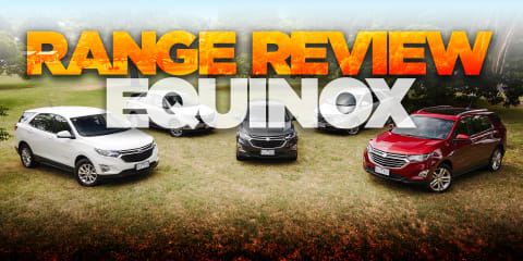 2018 Holden Equinox range review