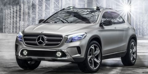 Mercedes-Benz GLA concept leaked