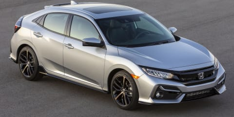 2020 Honda Civic hatch unveiled in the US - UPDATE
