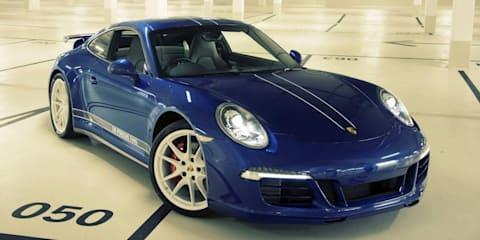 Porsche 911: special edition celebrates five million Facebook fans
