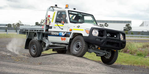Toyota and BHP begin trialling electric LandCruiser 70 Series