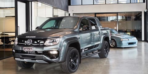 2021 Volkswagen Amarok W580 dual-cab ute enters production in Clayton