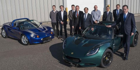 "Lotus builds 40,000th model on ""Small Car Platform"""