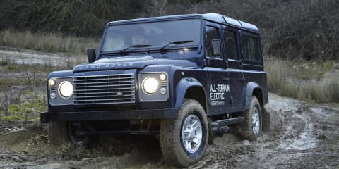 Land Rover Electric Defender: off-road EV headed for Geneva