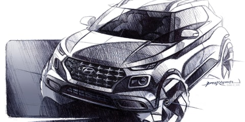 2020 Hyundai Venue sketched