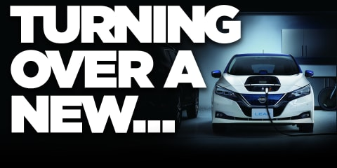 2018 Nissan Leaf revealed