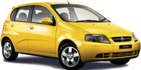 Holden Barina Korean Safety