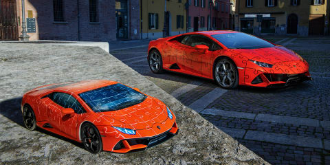 Lamborghini releases Huracán EVO in 3D puzzle form