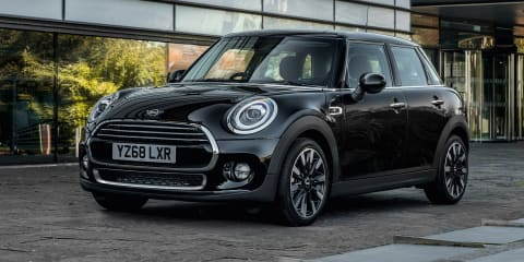 Mini streamlines model range in the UK