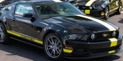 Ford Mustang Hertz Penske GT Special Edition revealed