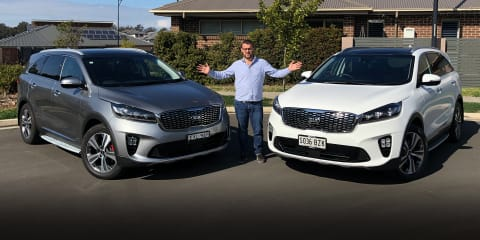 Kia Sorento GT-Line comparison: petrol v diesel, which is best?