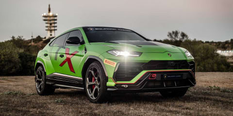 Lamborghini announces Urus ST-X race debut