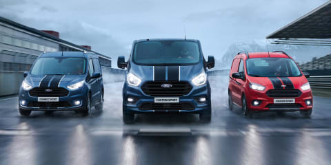 Ford Transit Custom Sport gets power bump in Europe