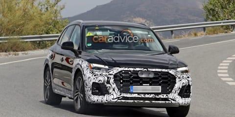 2020 Audi Q5 spied