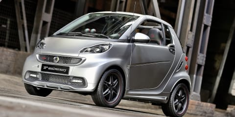 Smart Fortwo Brabus 10th Anniversary special edition released