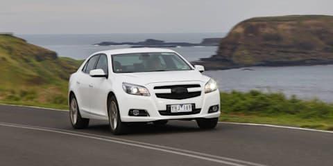 2012 Holden Malibu testing in Australia