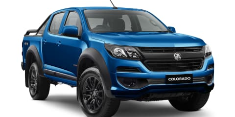 Holden Colorado LSX: Affordable black-pack here to stay