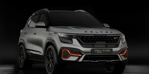 Kia Sonet and Seltos X-Line concepts debut at Delhi Auto Expo