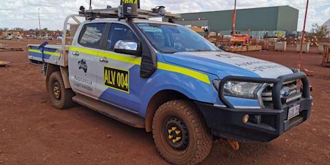 Autonomous Ford Ranger developed by Australian mining company