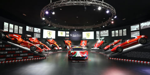 Ferrari museum celebrates 70-years of Le Mans victories