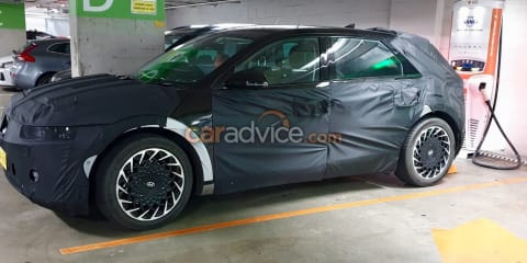 2021 Hyundai Ioniq 5 spied testing in Sydney