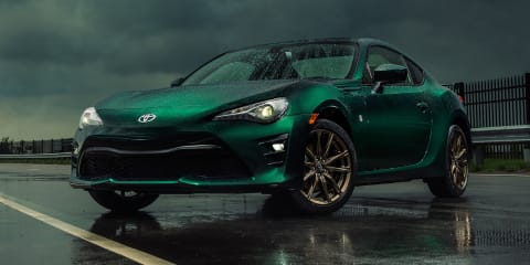 Toyota 86 Hakone Edition: Green special headed for the US