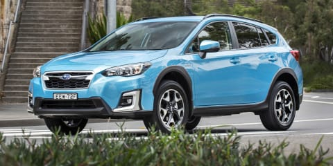 Subaru XV, Forester hybrids sold out until May