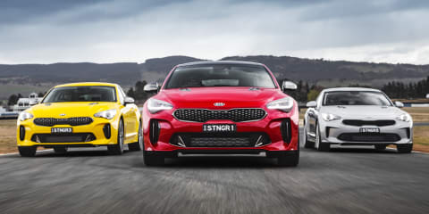 Kia Stinger beats Holden Commodore in sales race