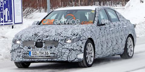 2021 Mercedes-Benz C-Class PHEV spied