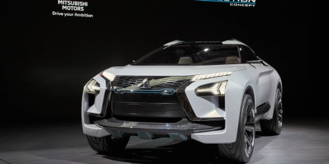 Mitsubishi e-Evolution concept revealed in Tokyo